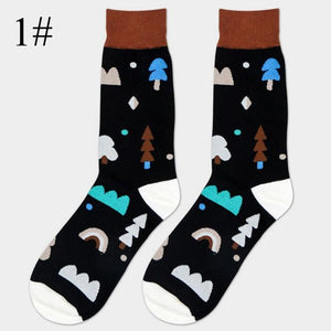 Colorful Happy Socks 1 / One Size