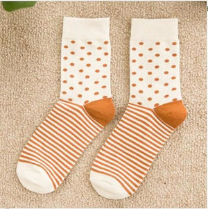 Colorful Happy Socks Polka Dots / One Size