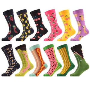 Crazy Colorful Socks Pack (12 Pairs) Color 3