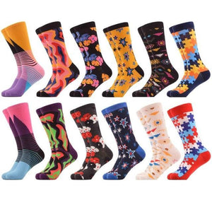 Crazy Colorful Socks Pack (12 Pairs) Color 4