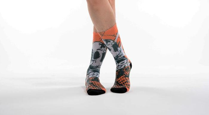 Crazy Compression Socks (4 Pairs)