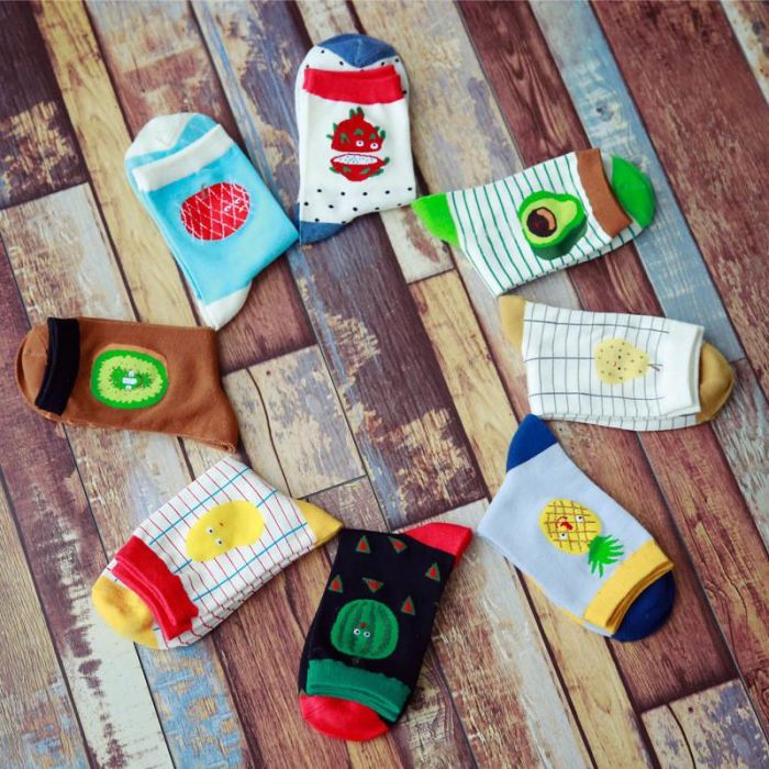 Creative Design Fruit Socks