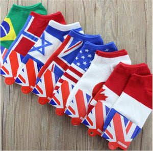 Custom Country Flag Socks