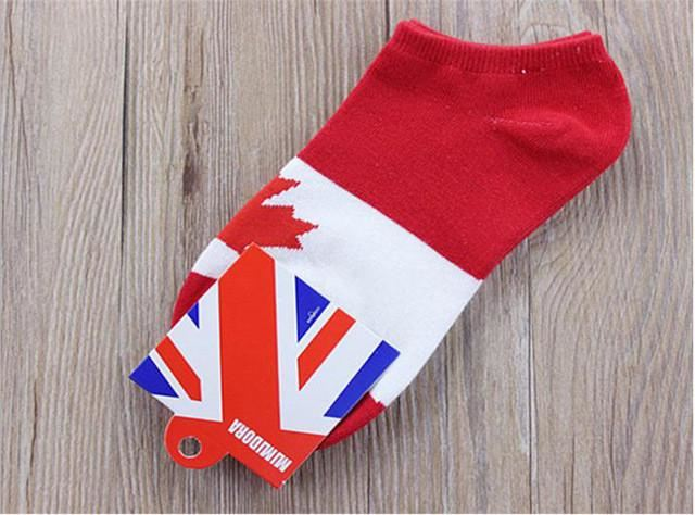 Custom Country Flag Socks Image 3