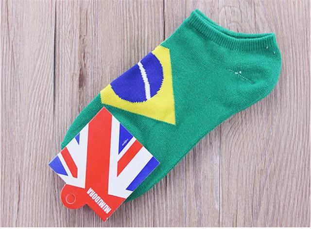 Custom Country Flag Socks Image 7