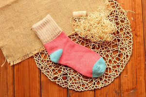 Cute Colorful Wool Socks 01 / One Size