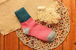 Cute Colorful Wool Socks 04 / One Size