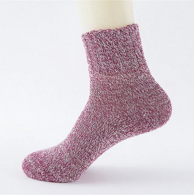 Cute Colorful Wool Socks 06 / One Size