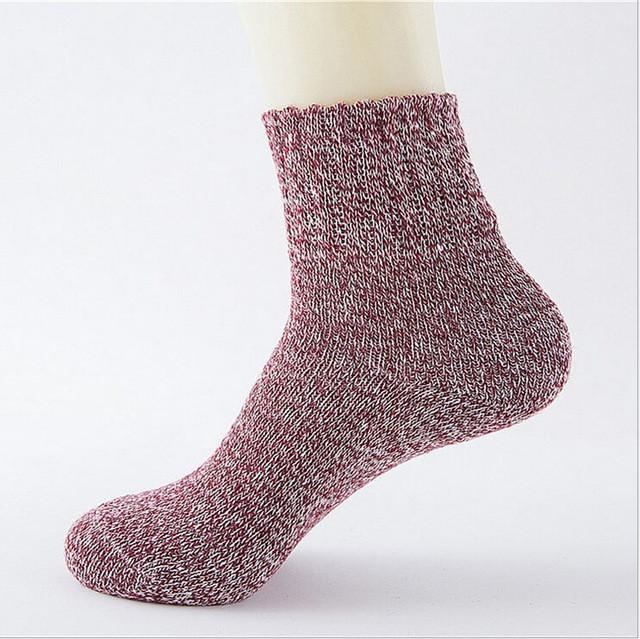 Cute Colorful Wool Socks 07 / One Size