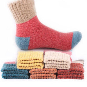 Cute Colorful Wool Socks