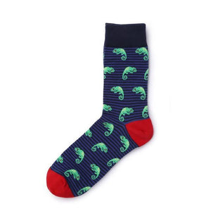 Delicious Fruit Socks Chameleon