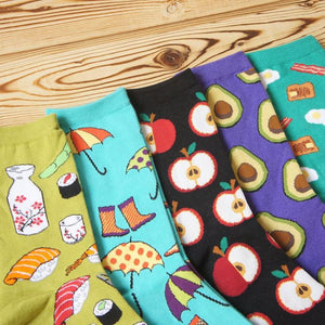 Delicious Fruit Socks