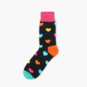 Delicious Fruit Socks Hearts
