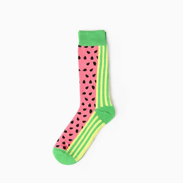 Delicious Fruit Socks Watermelon33