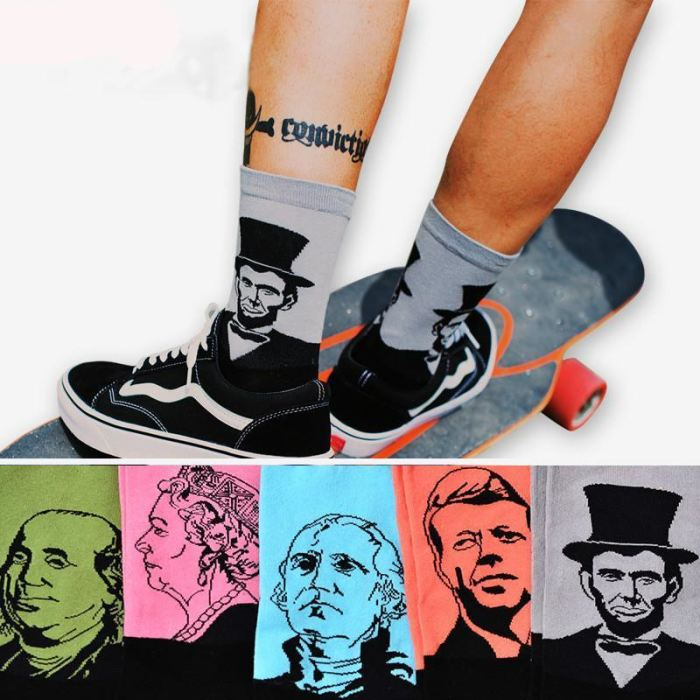 Famous People Socks
