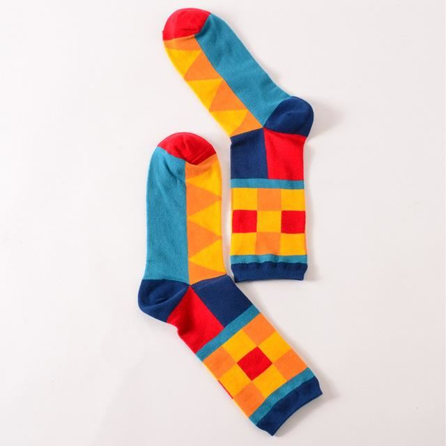 Fashion Happy Socks Hit Color / All Code