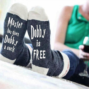 Master Has Given Dobby Socks