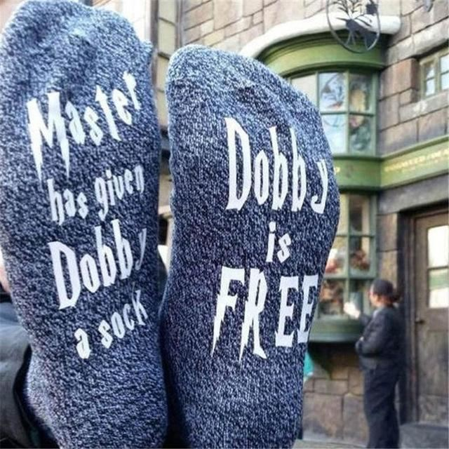 Master Has Given Dobby Socks Model 7