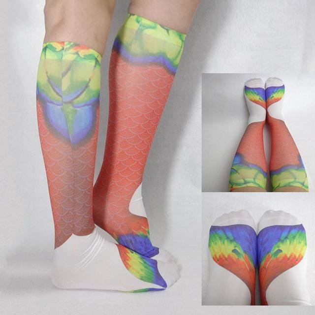 Mermaid Socks Multi / One Size
