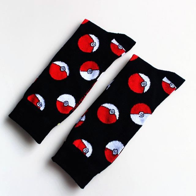 Pokemon Socks Black