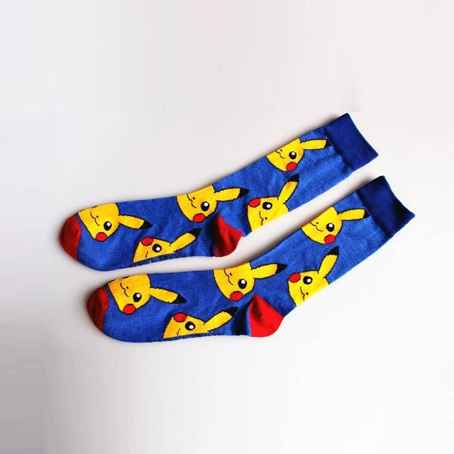 Pokemon Socks Royal Blue