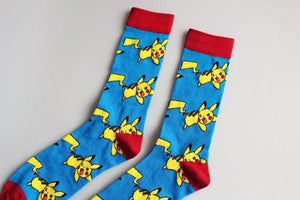 Pokemon Socks Sky Blue