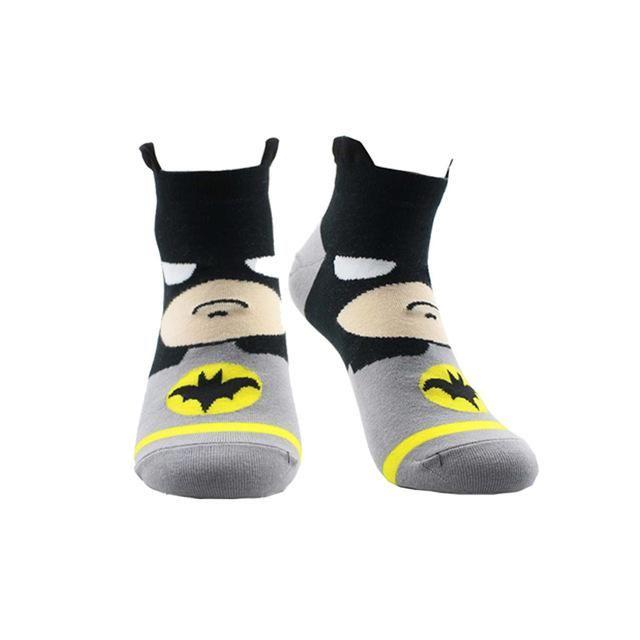 Powerful Superhero Socks Batman 1 / One Size