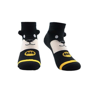 Powerful Superhero Socks Batman 2 / One Size