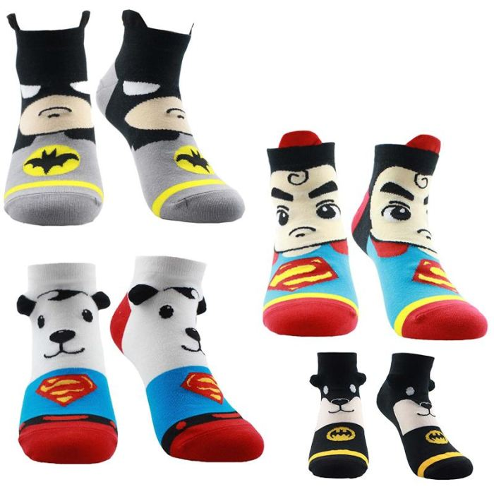 Powerful Superhero Socks