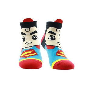 Powerful Superhero Socks Superman 2 / One Size