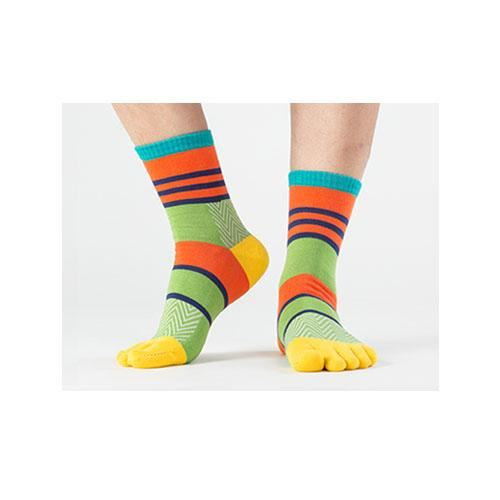 Stripe Toe Socks 3 / One Size