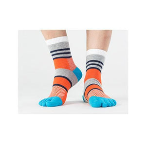 Stripe Toe Socks 4 / One Size