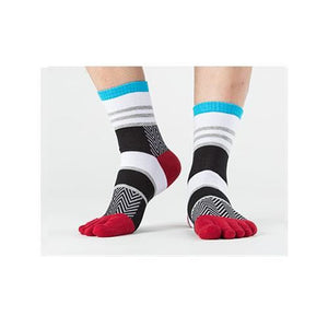 Stripe Toe Socks 6 / One Size