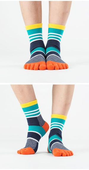 Stripe Toe Socks
