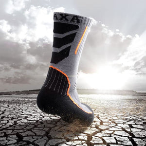 The Undefeated Socks - 3 Pairs Orange