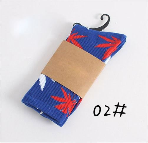 Weed Design Socks 02 / One Size