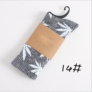 Weed Design Socks 14 / One Size