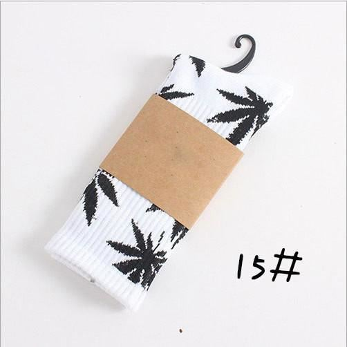 Weed Design Socks 15 / One Size