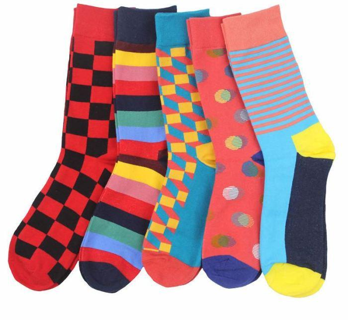 Workaholic Classy Socks - 5 Pairs