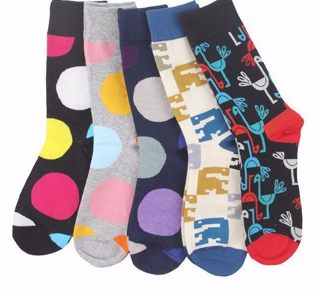 Workaholic Classy Socks - 5 Pairs Group 1
