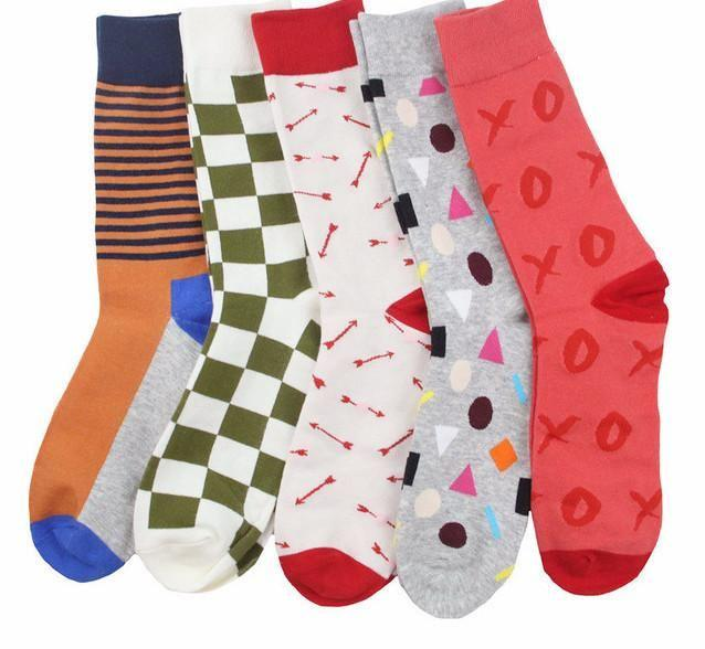 Workaholic Classy Socks - 5 Pairs Group 10
