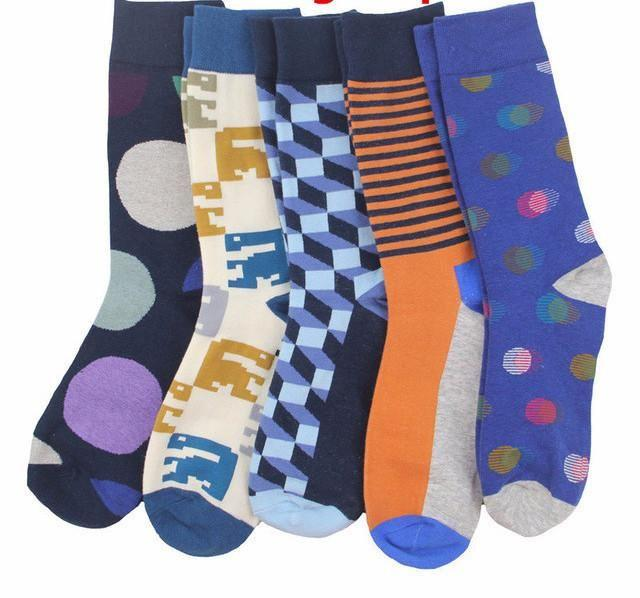 Workaholic Classy Socks - 5 Pairs Group 12
