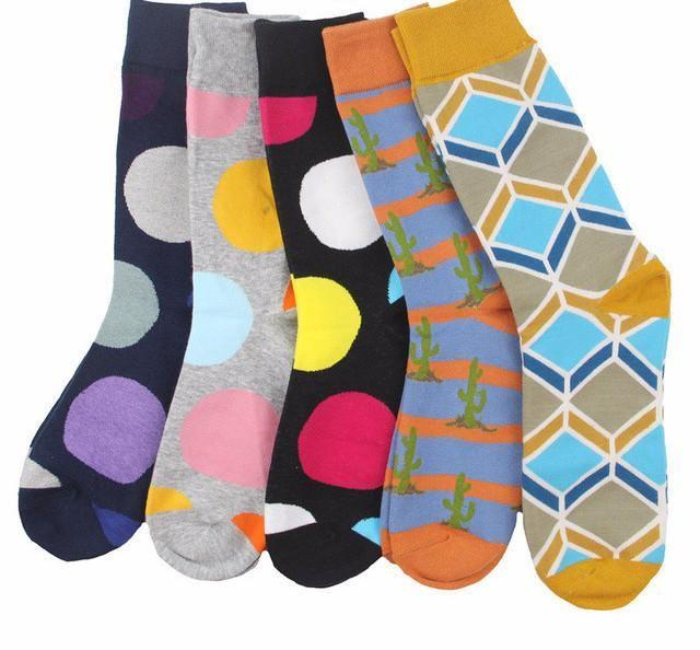 Workaholic Classy Socks - 5 Pairs Group 13