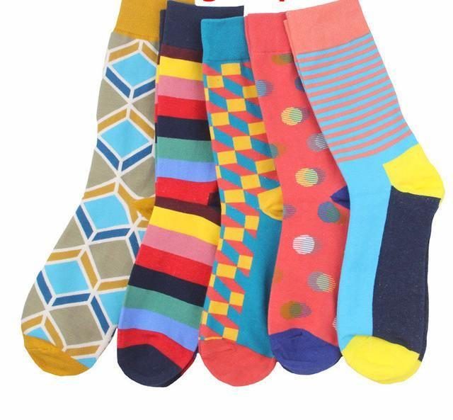 Workaholic Classy Socks - 5 Pairs Group 14