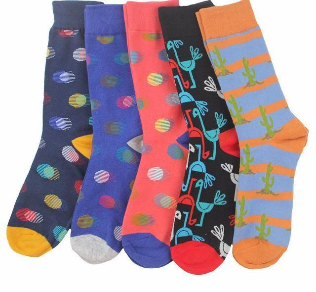 Workaholic Classy Socks - 5 Pairs Group 2