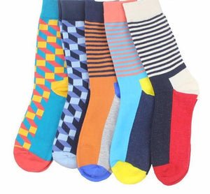 Workaholic Classy Socks - 5 Pairs Group 4