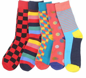 Workaholic Classy Socks - 5 Pairs Group 6