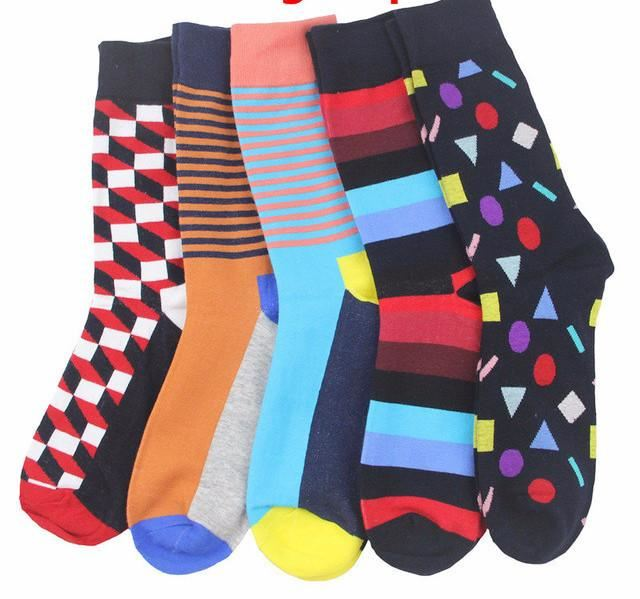 Workaholic Classy Socks - 5 Pairs Group 8