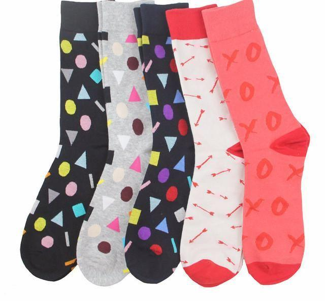 Workaholic Classy Socks - 5 Pairs Group 9