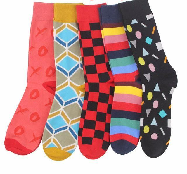 Workaholic Classy Socks - 5 Pairs Group